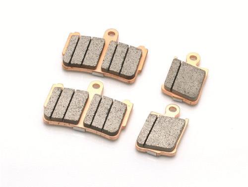 Plaquettes de frein Nissin métal fritté indice ST