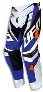 Pantalon cross UFO Voltage Bleu Blanc