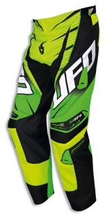 Pantalon cross UFO Voltage Vert jaune