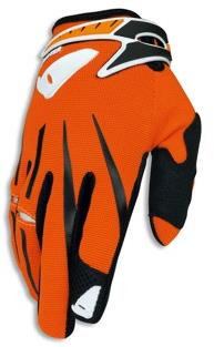 Gants cross UFO Cluster Orange