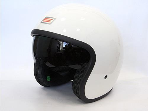Casque jet Origine Sprint blanc brillant