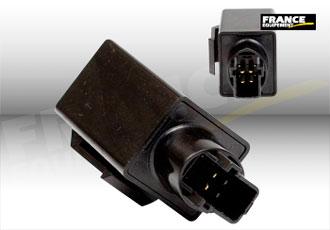 Relais électronique à 4 pôles pour clignotants à leds
