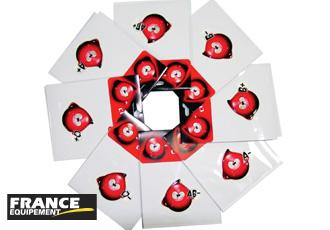 Sticker 3D groupe sanguin