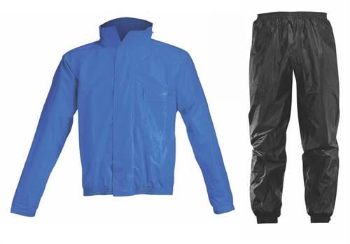 Ensemble de pluie Acerbis Logo bleu/noir