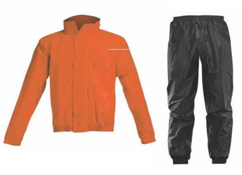 Ensemble de pluie Acerbis Logo orange/noir