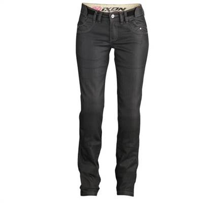 Pantalon Jean femme Ixon Ashley noir