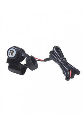Double prise USB pour guidon moto CellularLine