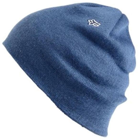 Bonnet Fox Skully Sulphur Bleu marine