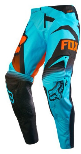 Pantalon cross Fox 360 Shiv aqua