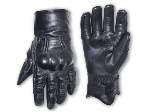 Gants RST Retro II CE cuir mi-saison noir