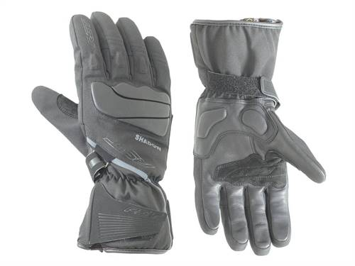 Gants RST Shadow III CE Waterproof cuir/textile mi-saison noir