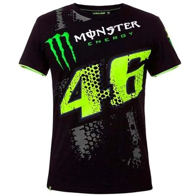 T-shirt Monster Replica DTBC VR46 noir