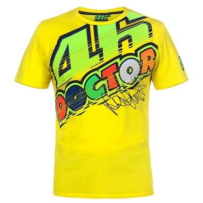 T-shirt 2 VR46 vt261801 jaune