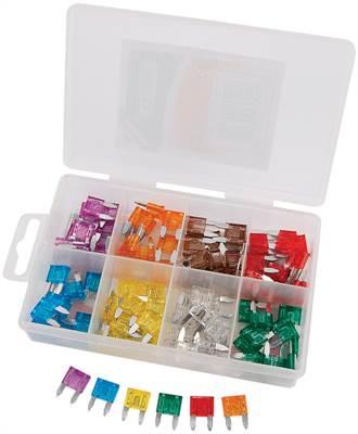 Boîte de 100 mini-fusibles Draper Tools