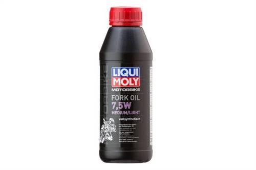 Huile de fourche Liqui Moly 1L Motorbike Fork Oil 7,5W Medium/Light