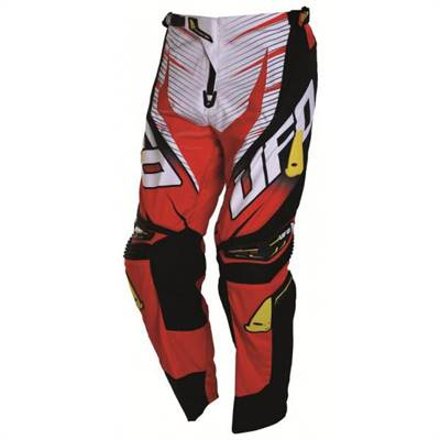 Pantalon cross UFO Voltage Rouge Noir