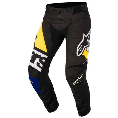 Pantalon cross Alpinestars Techstar Factory noir/bleu