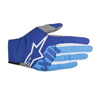 Gants cross Alpinestars Dune-2 bleu