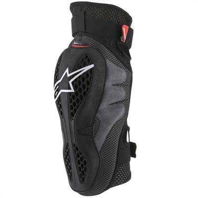 Protection genouillère Alpinestars Sequence noir/rouge