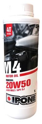 Huile moteur Ipone Moto 4T M4 20W50