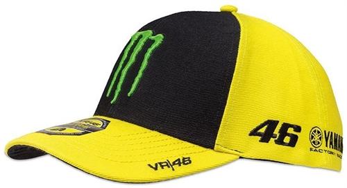 Casquette VR46 sponsor jaune