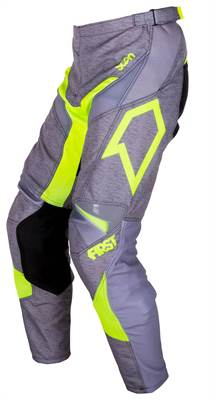 Pantalon cross First Racing Scan gris/vert