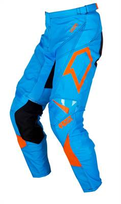 Pantalon cross First Racing Scan bleu/orange