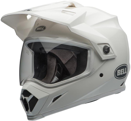 Casque cross Bell MX-9 Adventure Solid Blanc