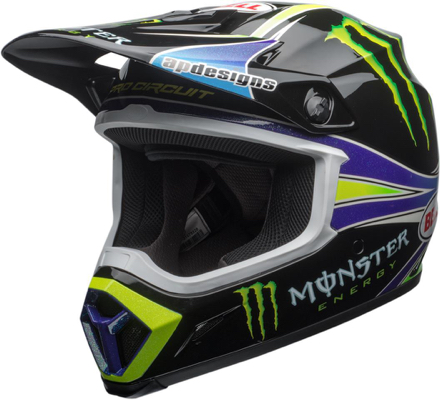 Casque cross Bell MX-9 Mips Pro Circuit Vert