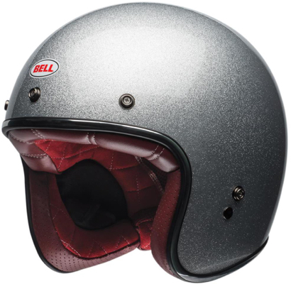 Casque jet Bell Custom 500 Flake Gris