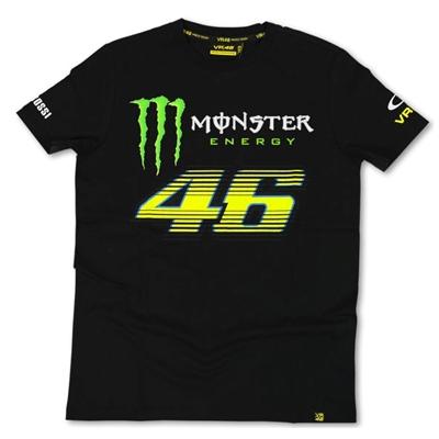 Tee shirt VR46 Monster Energy Monza