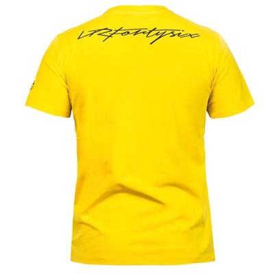 Tee shirt VR46 jaune