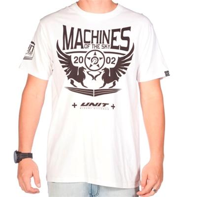 Tee Shirt Unit MACHINES BLANC