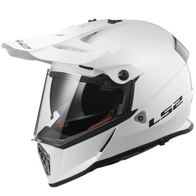 Casque LS2 MX436 Pioneer blanc brillant