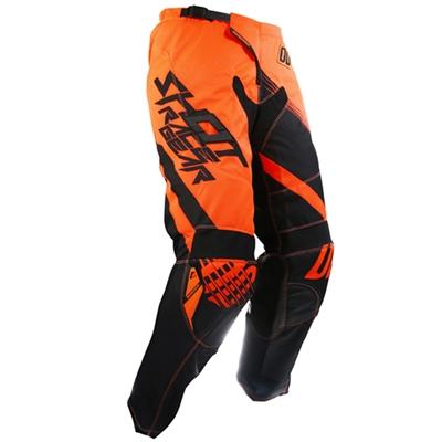 Pantalon cross Shot Contact claw orange fluo