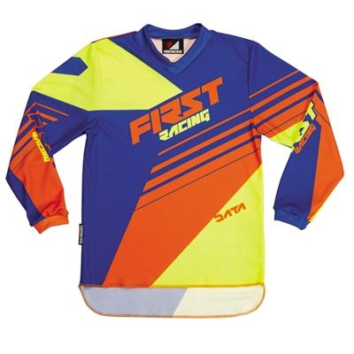 Maillot First racing Data orange