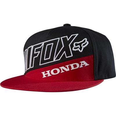 Casquette Fox Honda premium rouge noir