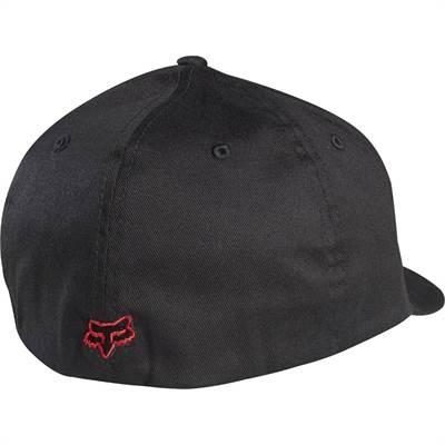 Casquette Fox Legacy Flexfit Noir/Rouge