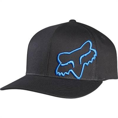 Casquette Fox Flex 45 Flexfit Noir/Bleu