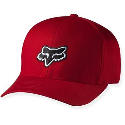 Casquette Fox Legacy Flexfit Rouge