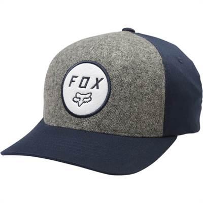 Casquette Fox Settled Flexfit Bleu/Gris