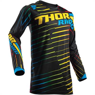Maillot cross Thor S8 Pulse Rodge Multi Noir/Jaune