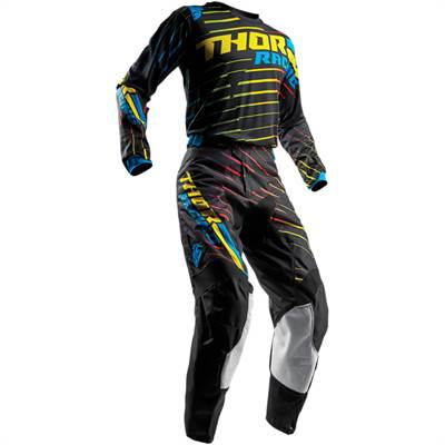 Tenue cross enfant Thor S8Y Pulse Rodge Multi Noir/Jaune