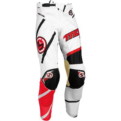 Pantalon cross Moose Racing S7 M1 Rouge/Blanc