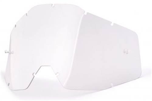 Ecran de remplacement pour masque cross 100% Strata Mini Blanc
