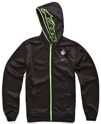 Sweat à capuche Alpinestars Freemont zip