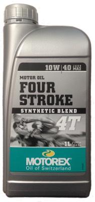 Huile moteur MOTOREX 4T 10W/40 synthétique 1L