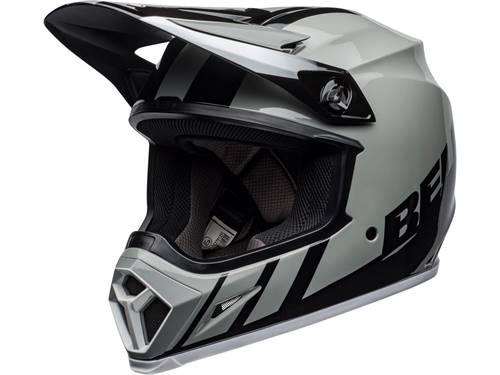 Casque cross BELL MX-9 Mips Dash gris/noir/blanc