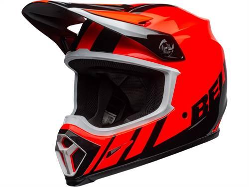 Casque cross BELL MX-9 Mips Dash Orange/noir