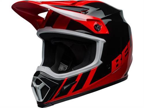 Casque cross BELL MX-9 Mips Dash noir/rouge